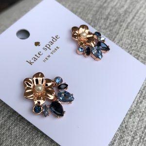 Kate Spade Wild Garden Stud Earrings NWT